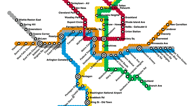 Create your own metro maps, save them, and share with friends