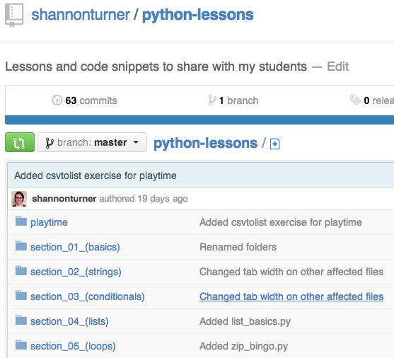 Python lessons